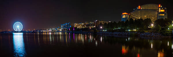 Photograph - Gaylord National Resort And Convention Center At Night by Chris Bordeleau
