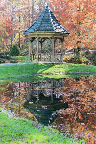 Photograph - Gazebo In Fall  by Keith Smith