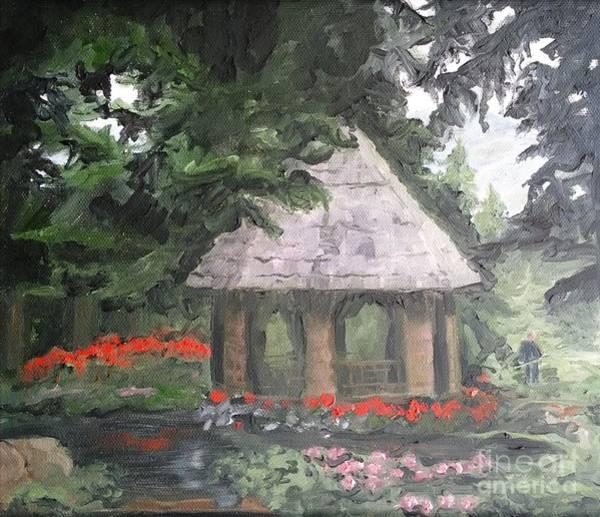 Painting - Gazebo by Lori Pittenger