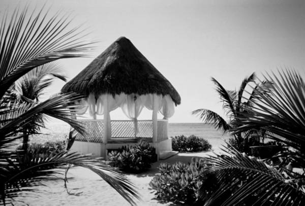 Photograph - Gazebo On The Ocean by Anita Burgermeister