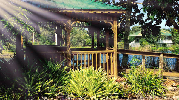 Photograph - Gazebo by Richard Goldman