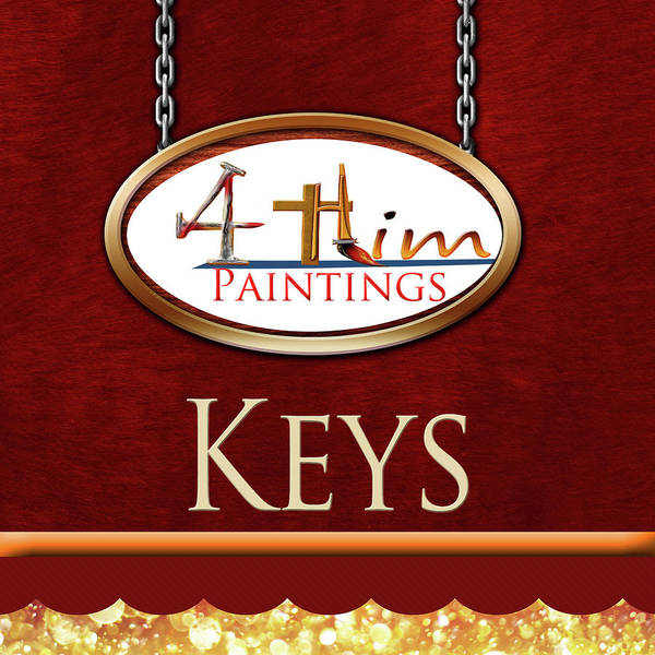 Digital Art - Gb 4him Keys by Jennifer Page