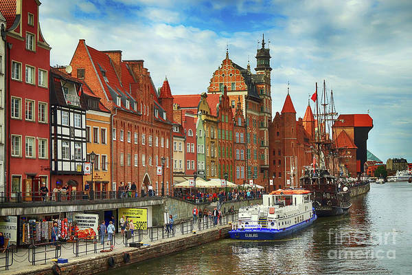 Photograph - Gdansk Old Town by Teresa Zieba