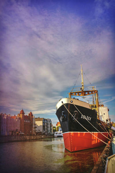 Wall Art - Photograph - Gdansk Poland Ss Soldek  by Carol Japp