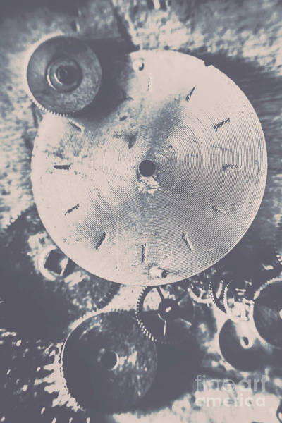 Steampunk Photograph - Gears Of Old Industry by Jorgo Photography - Wall Art Gallery