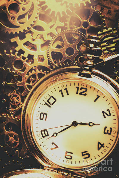 Dirty Photograph - Gears Of Time Travel by Jorgo Photography - Wall Art Gallery