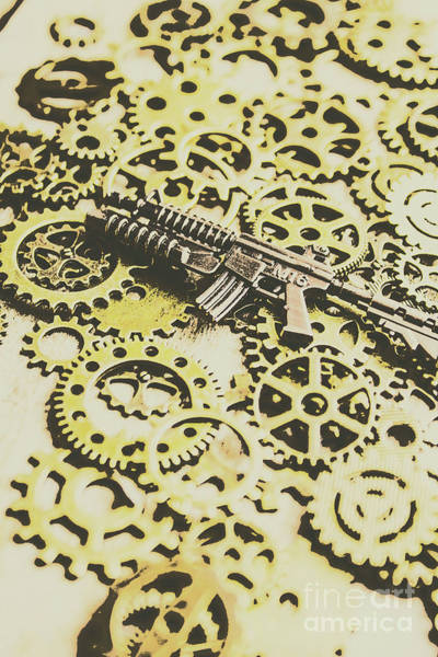 Firearm Photograph - Gears Of War by Jorgo Photography - Wall Art Gallery
