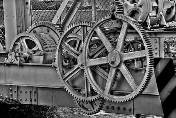 Gears Photograph - Gears by William Wetmore