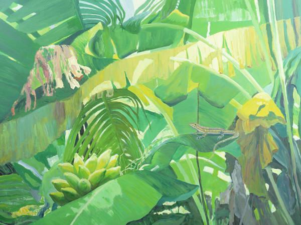 Gecko Wall Art - Painting - Gecko  by William Ireland