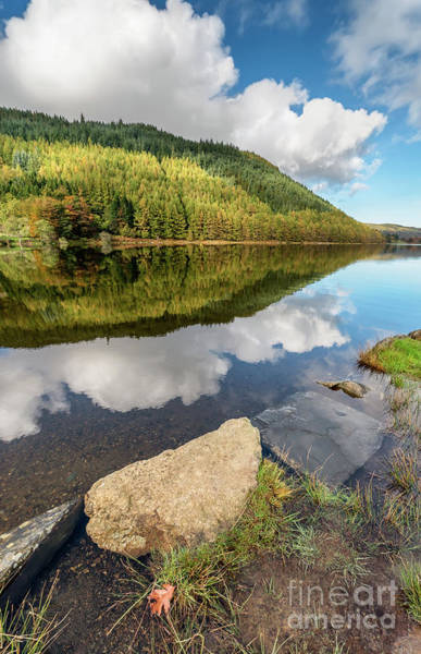 Photograph - Geirionydd Lake Wales by Adrian Evans