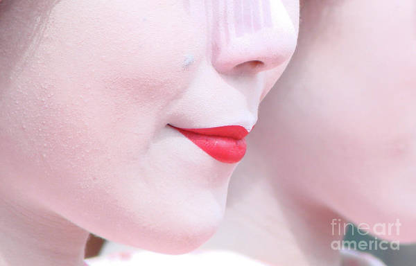 Wall Art - Photograph - Geisha Smile by Delphimages Photo Creations