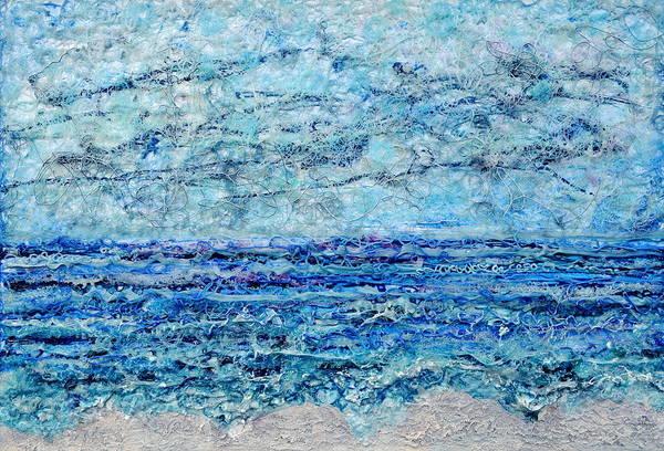 Painting - Gelid Shoreline by Regina Valluzzi
