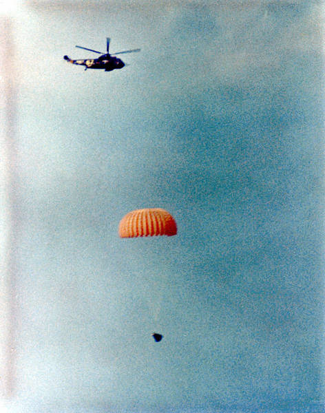 Photograph - Gemini 12 Splashdown by Artistic Panda