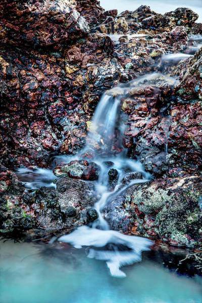 Port Photograph - Gemstone Falls by Az Jackson