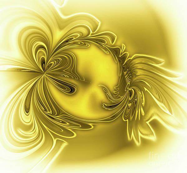 Digital Art - Gemstone Gold by Eva-Maria Di Bella