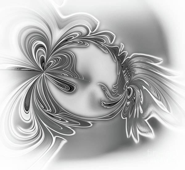 Digital Art - Gemstone Silver by Eva-Maria Di Bella