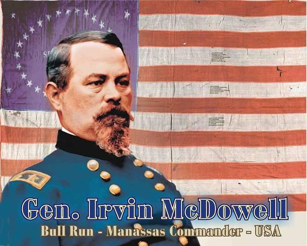 Gen. Irvin Mcdowell Art Print