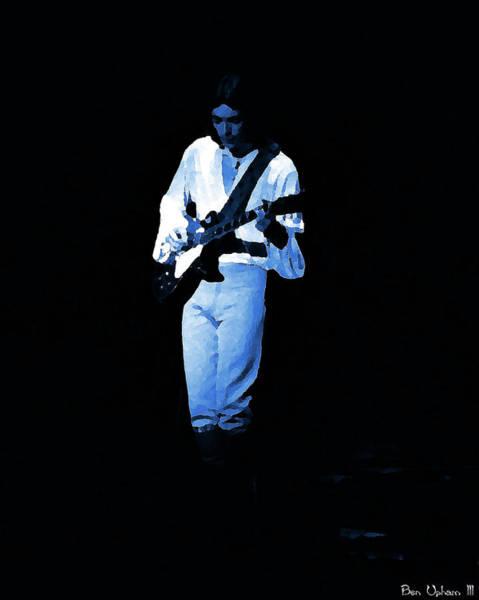 Photograph - Genber #7 Enhanced In Blue by Ben Upham