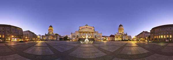 Berlin Cathedral Photograph - Gendarmenmarkt Berlin by Greta Schmidt