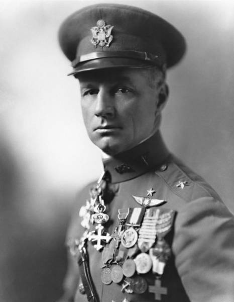 Wwi Photograph - General Billy Mitchell by War Is Hell Store