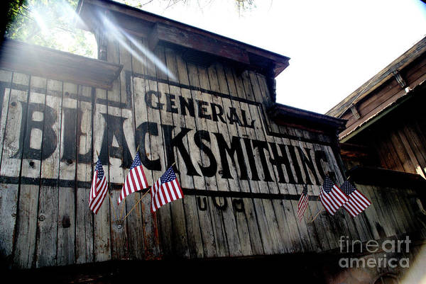 Photograph - General Blacksmithing by Linda Shafer