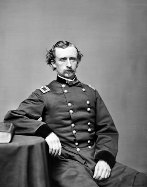 Wall Art - Photograph - General Custer Portrait - 1864 by War Is Hell Store