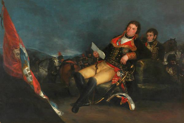 Manuel Wall Art - Painting - Portrait Of Manuel Godoy by Francisco Goya