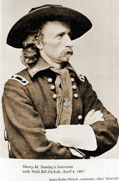 Photograph - General George Custer by Gary Wonning