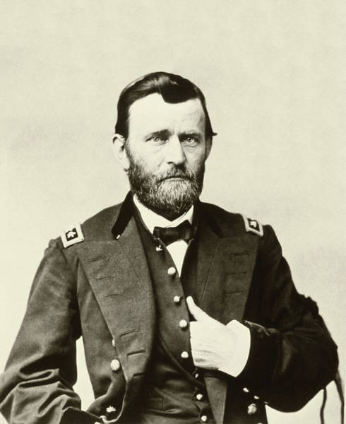 Photograph - General Grant by Bill Cannon