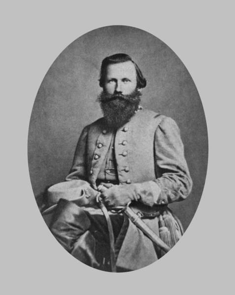 Cavalry Photograph - General J.e.b. Stuart - Confederate Army General by War Is Hell Store