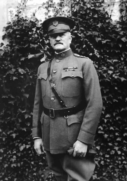 Wwi Wall Art - Painting - General John J. Pershing by War Is Hell Store