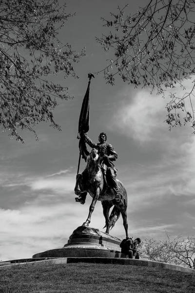 Photograph - General John Logan Monument by John McArthur
