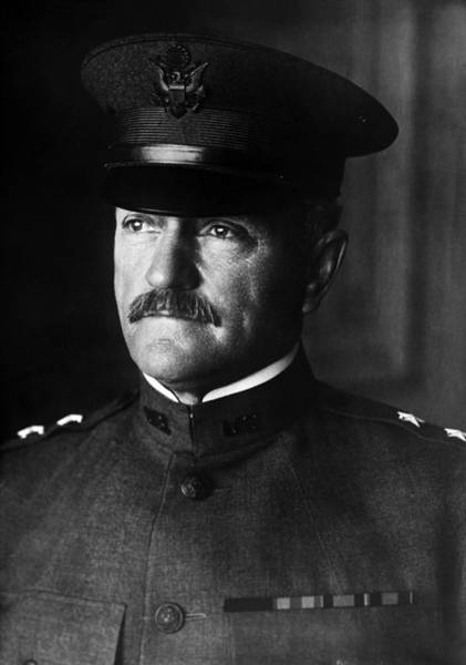 Stores Photograph - General John Pershing Portrait by War Is Hell Store