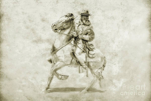 General Longstreet At Gettysburg Art Print