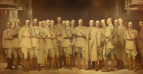 I Dream Painting - General Officer Of World War I by Mountain Dreams
