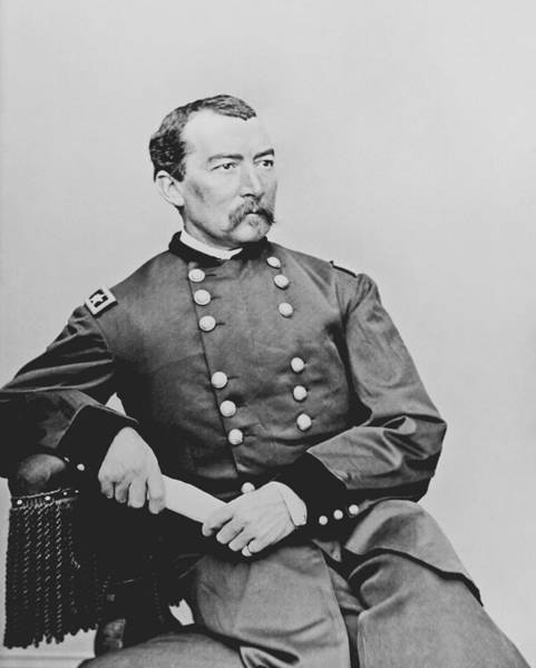 Indian Photograph - General Phil Sheridan by War Is Hell Store