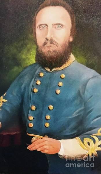 Stonewall Jackson Painting - General Stonewall Jackson By Deborah Williams by Deborah Williams