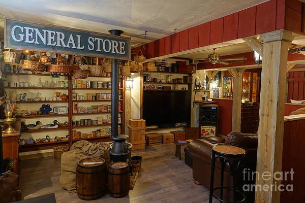 Photograph - General Store by Olivier Le Queinec