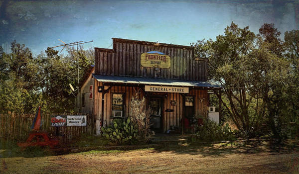 Fredericksburg Wall Art - Photograph - General Store Vintage by Judy Vincent