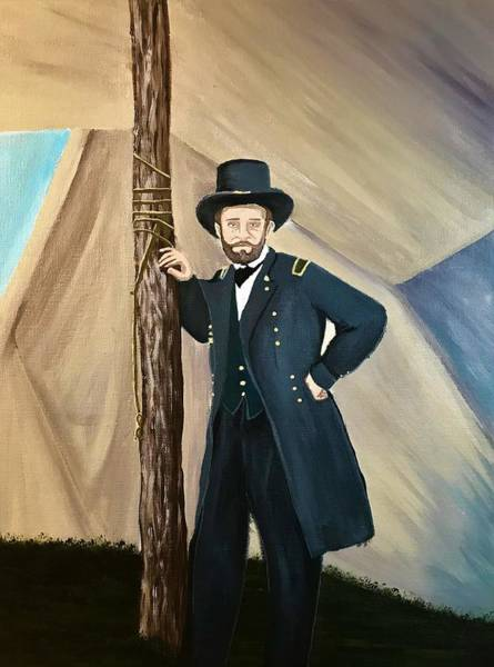 Wall Art - Painting - General Ulysses S.  Grant by Willy Proctor