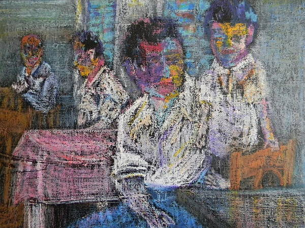 Painting - Generations by Marwan George Khoury