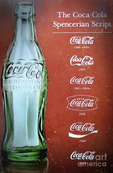 Soda Pop Mixed Media - Generations Of Coca Cola by David Millenheft