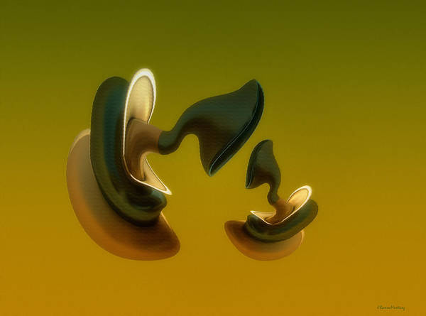Behaviour Digital Art - Generations by Ramon Martinez