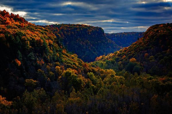 Genesee Photograph - Genesee River Gorge by Rick Berk