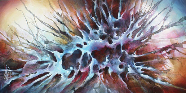 Wall Art - Painting -  Genesis by Michael Lang