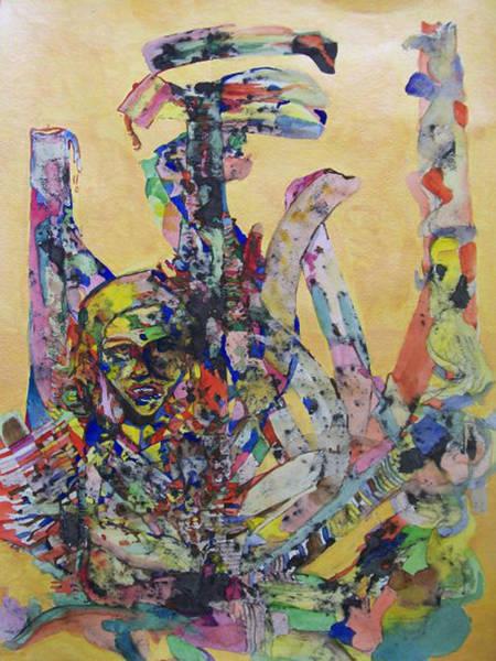 Genie Painting - Genie Unbottled Uncorked by James Christiansen