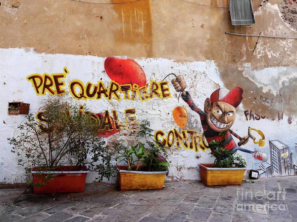 Photograph - Genovese Graffitti  by Brenda Kean