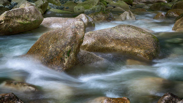 Shannon Falls Wall Art - Photograph - Gentile Waters by Stephen Stookey