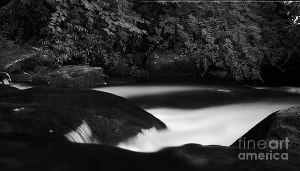 Nantahala Photograph - Gentle Creek by Patrick M Lynch