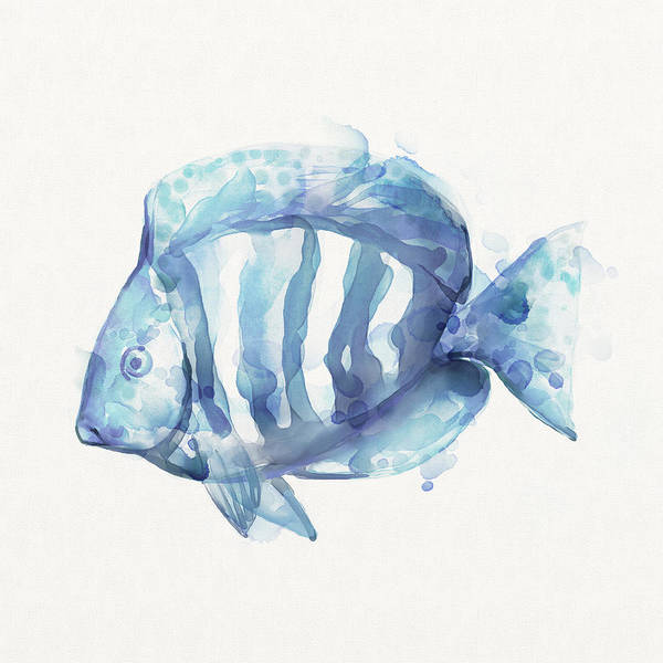 Wall Art - Painting - Gentle Fish by Mauro DeVereaux